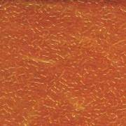 Miyuki Delica Perlen 1,6mm DB0703 transparent Orange 5gr