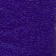 Miyuki Delica Perlen 1,6mm DB0748 transparent matt Cobalt Blue 5gr