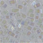 Miyuki Halb Tila Perlen 2,2x5mm rainbow Crystal HTL0250 ca 7,8gr