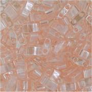 Miyuki Halb Tila Perlen 2,2x5mm luster light Rose HTL0365 ca 7,8gr