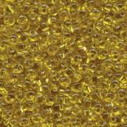 Miyuki Magatama Perlen 4mm 0006 silverlined Yellow ca 24gr