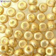 Miyuki Rocailles Baroque Perlen 4mm 3953 Gold ca 6,8gr