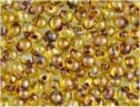 Miyuki Tropfen Perlen 3,4mm 4501 transparent light Topas Picasso ca 10gr