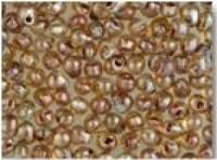 Miyuki Tropfen Perlen 3,4mm 4505 transparent light Smoky Topaz Picasso ca 10gr