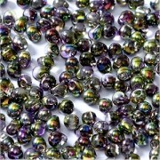 Miyuki Tropfen Perlen 3,4mm Czech Coating 4571 Crystal Magic Orchid ca 10 gr