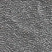 Miyuki Rocailles Perlen 1,5mm 0194 Palladium Plated ca 11gr