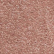 Miyuki Rocailles Perlen 1,5mm 1554 sparkle maroonlined Crystal ca 11gr