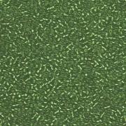 Miyuki Rocailles Perlen 1,5mm 1642 silverlined semimatt dark Green ca 11gr