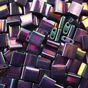 Miyuki Tila Perlen 5mm rainbow metallic Bronze TL1898 ca 7,2gr