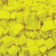 Miyuki Tila Perlen 5mm opaque Yellow TL0404 ca 7,2gr