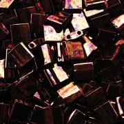 Miyuki Tila Perlen 5mm rainbow metallic dark Rasp TL0457B ca 7,2gr