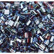 Miyuki Tila Picasso Perlen 5mm transparent Garnet TL4504 ca 7,2gr