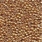 Miyuki Rocailles Perlen 4mm 182 galvanized Gold 20gr