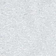 Miyuki Rocailles Perlen 1,5mm 131FR matt rainbow Crystal ca 11gr