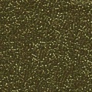 Miyuki Rocailles Perlen 1,5mm 1421 silverlined Olive ca 11gr