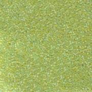 Miyuki Rocailles Perlen 1,5mm 143FR matt rainbow Chartreuse ca 11gr