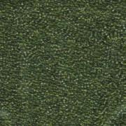 Miyuki Rocailles Perlen 1,5mm 158 transparent Olive Green ca 11gr