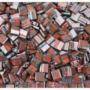 Miyuki Tila Picasso Perlen 5mm Mahogany Mist TL4521 ca 7,2gr