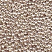 Miyuki Tropfen Perlen 3,4mm 0181 galvanized Silver 10gr