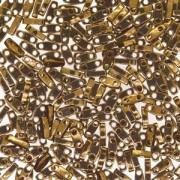 Miyuki Quarter Tila Beads 5x1.5mm Metallic Bronze ca. 7gr