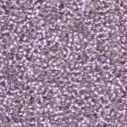 Miyuki Rocailles Perlen 2mm 0012 transparent silverlined Light Amethyst 12gr