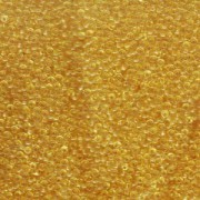 Miyuki Rocailles Perlen 2mm 0132 transparent Light Gold 12gr
