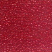 Miyuki Rocailles Perlen 2mm 0140 transparent Medium Red 12gr
