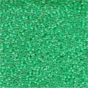 Miyuki Rocailles Perlen 2mm 0219 insinde colorlined Aqua 12gr
