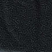 Miyuki Rocailles Perlen 2mm 0401F opaque matte Black 12gr