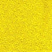Miyuki Rocailles Perlen 2mm 0404 opaque Yellow 12gr