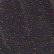 Miyuki Rocailles Perlen 2mm 0454 metallic rainbow Violet Green Violet 12gr
