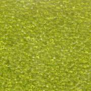 Miyuki Rocailles Perlen 1,5mm 0143 transparent Lime Green ca 11gr