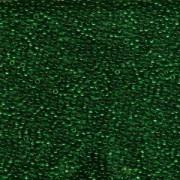 Miyuki Rocailles Perlen 1,5mm 0147 transparent Dark Green ca 11gr