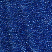 Miyuki Rocailles Perlen 1,5mm 0149 transparent Carg Turquoise Blue ca 11gr