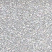 Miyuki Rocailles Perlen 1,5mm 0250 transparent rainbow Clear ca 11gr