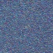 Miyuki Rocailles Perlen 1,5mm 0274 inside colorlined Light Violet AB ca 11gr