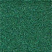 Miyuki Rocailles Perlen 1,5mm 0295 transparent rainbow Green-Blue-Gold ca 11gr