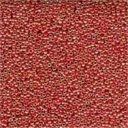 Miyuki Rocailles Perlen 1,5mm 0424 opaque luster Burnt Orange ca 11gr