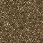 Miyuki Rocailles Perlen 1,5mm 0457L metallic Light Bronze ca 11gr
