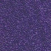 Miyuki Rocailles Perlen 1,5mm 1558 Crystal sparkling Violet lined ca 11gr