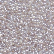 Miyuki Rocailles Perlen 3mm 0001 transparent silverlined Clear ca 13gr