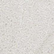 Miyuki Rocailles Perlen 3mm 0131FR transparent rainbow matt Clear ca 13gr