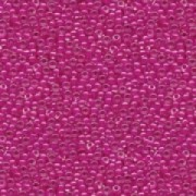 Miyuki Rocailles Perlen 3mm 0209 insinde colorlined Fuchsia ca 13gr