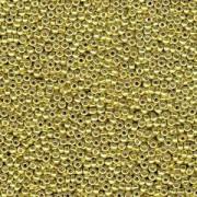 Miyuki Rocailles Perlen 3mm 4205 Duracoat galvanized Zest ca 22gr