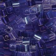 Miyuki Würfel Perlen 3mm Mix02 Blue Tones ca 20 Gr.