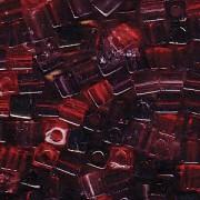 Miyuki Würfel Perlen 3mm Mix18 Vinyard ca 25 Gr.
