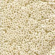 Miyuki Spacer Perlen 2,2X1mm matt opaque Cream ca 10 gr