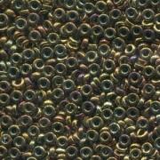 Miyuki Spacer Perlen 2,2X1mm metallic Violet Gold ca 10 gr