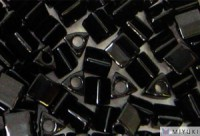 Miyuki Perlen Sharp Triangle Beads 2,5mm 0401 opaque Black 13 Gr.