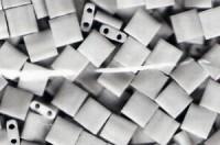 Miyuki Tila Perlen 5mm Opaque White TL0402 7,2gr